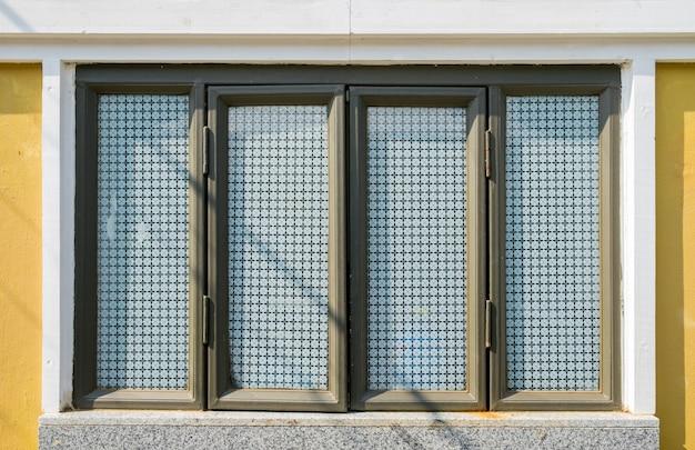 Window elegance vintage style on wall