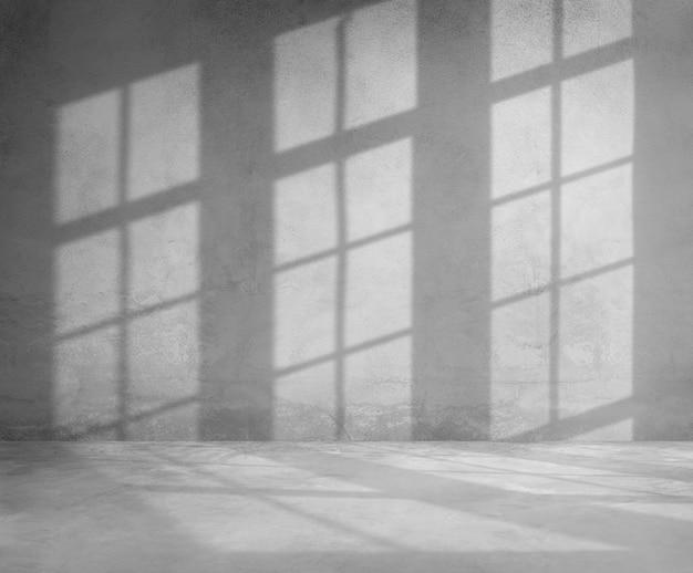 窓枠の影のデザイン要素