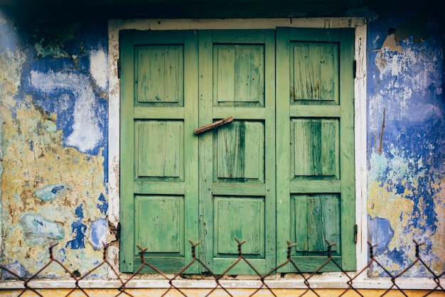 Window in hoi an, vietnam