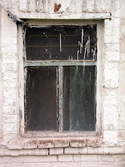 Window of an old house.