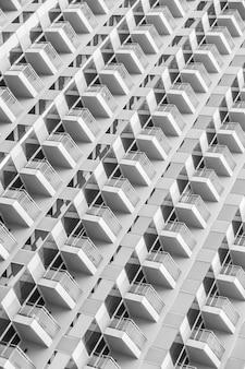 建物の窓パターン
