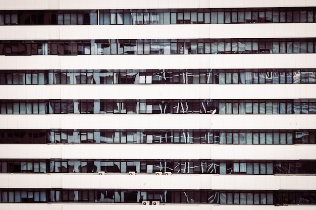Window pattern textures of building