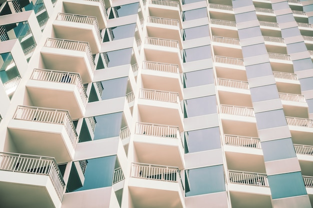 Windows pattern textures exterior of building