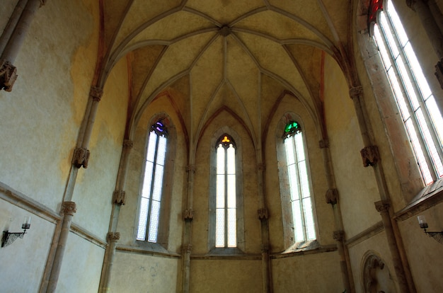 Windows of san giovanni in tuba church