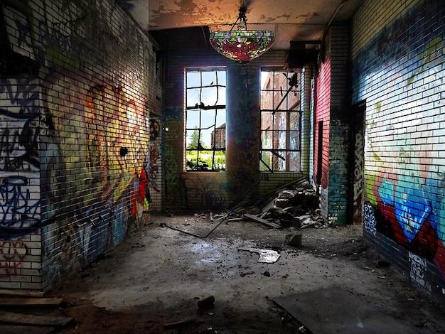 Окна городских граффити тиффани чикаго