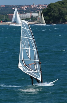 Windsurf in the sea