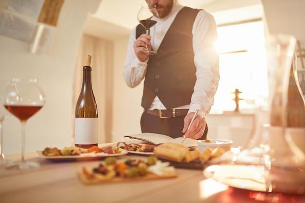 Эксперт по дегустации вин