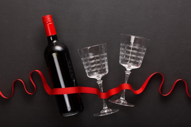 Wine and valentine's day gift.