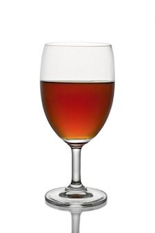 Wineglass crystal beverage alcohol brandy