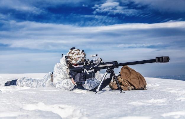 冬の北極山戦争