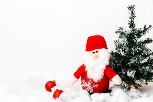 겨울 휴가. 크리스마스 이브. 인사말 카드.