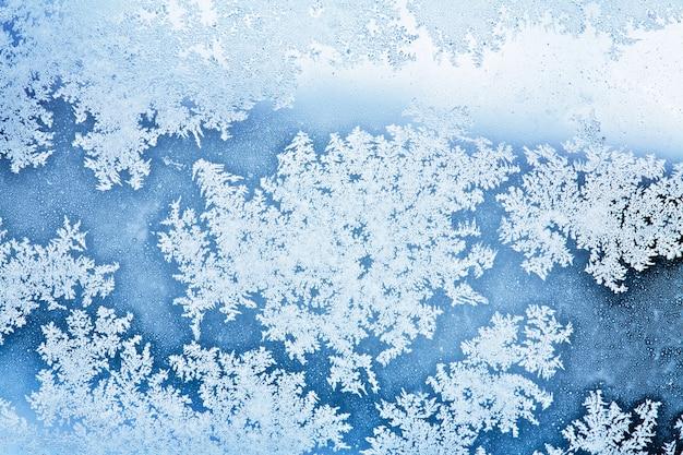 Зимний ледяной фон