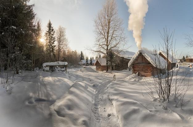 마을의 겨울