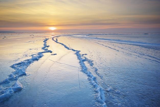 冬の風景 Premium写真