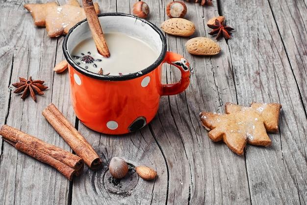 Winter warming cappuccino