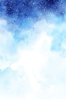 Winter watercolor background paper for wedding, scrapbooking, banners
