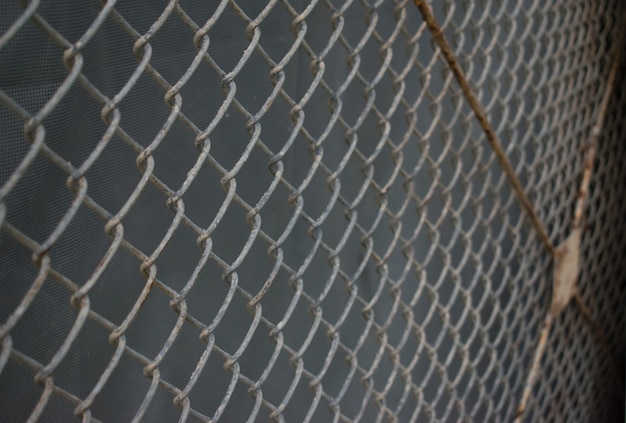 Wire mesh with rust