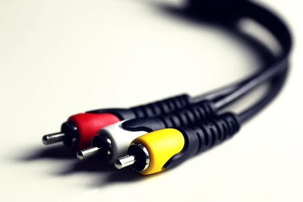 Проволока тюльпан кабеля макроса