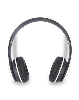 Wireless headphones isolated on white