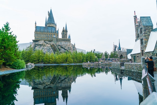 The wizard world of harry potter in universal studios japan