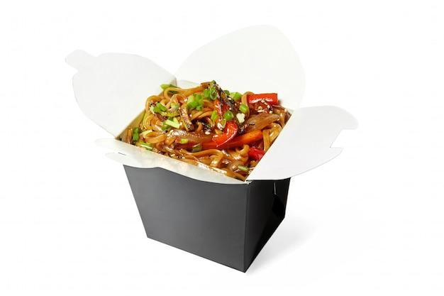 分離された中華麺