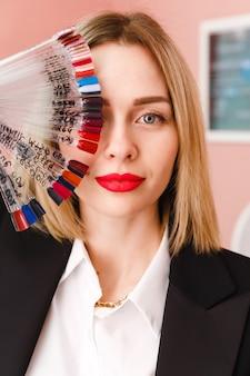 Woman beauty salon worker