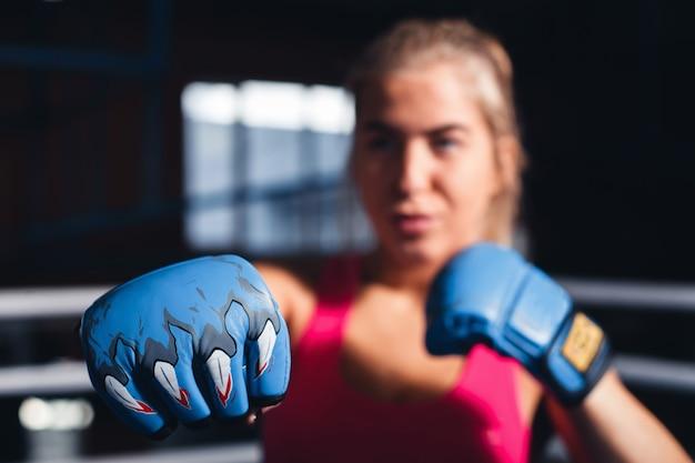 여자 권투