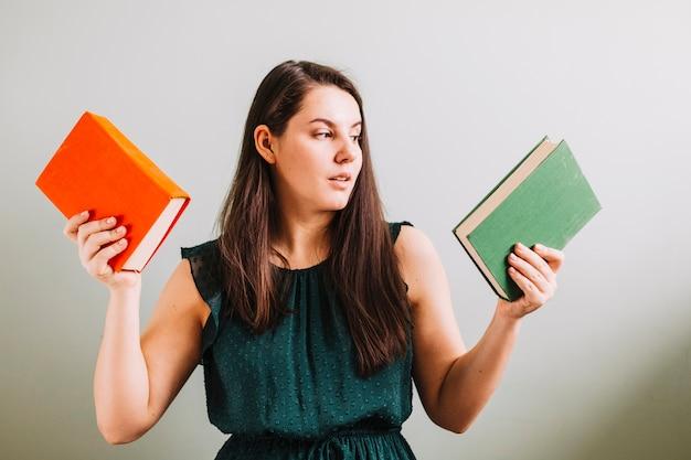 読書のための女性選択の本