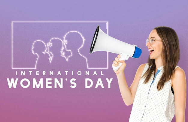女性の平等ジェンダーの権利の解放
