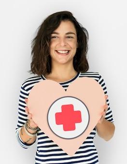 女性ホールドハートプラス応急処置