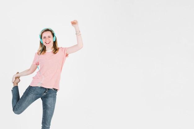 女性、頭、エネルギー、舞踊 無料写真