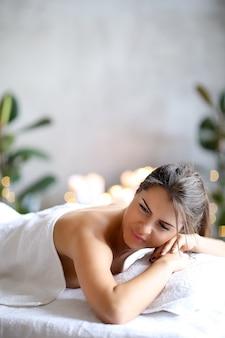 Женщина в спа