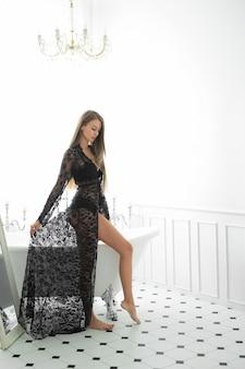 여자 드레스 포즈