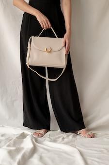Женская кожаная модная сумка