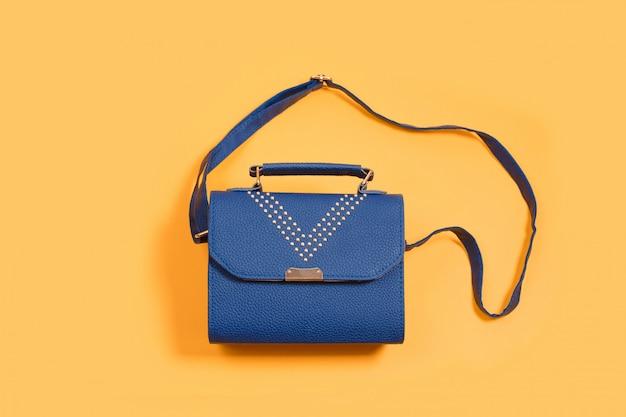 Женская кожаная маленькая сумочка-клатч