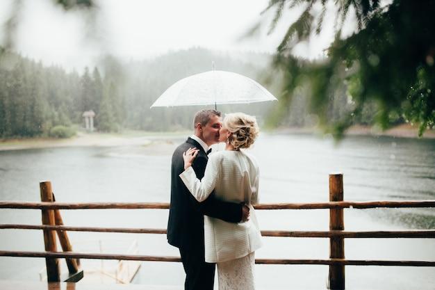 Woman mountain lake travel romance
