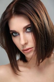 Woman portrait close-up