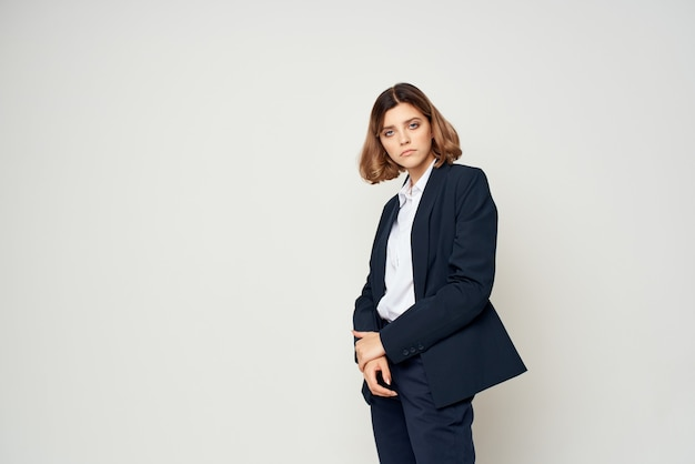 Woman in suit executive business office manager