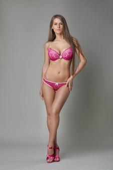 아름 다운 몸매를 가진 여자