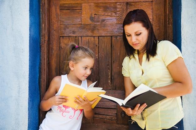 女の子、読書、女の子