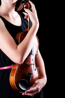 Woman with the violin