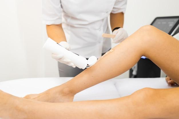 Womans leg