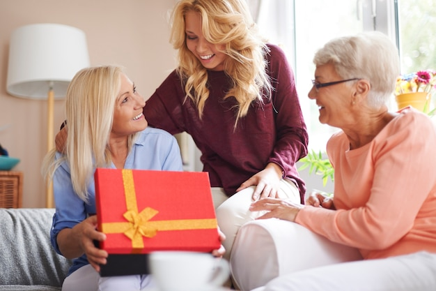 Women always like surprises regardless of age