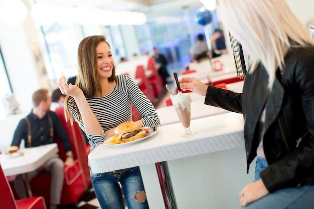 Women in the diner