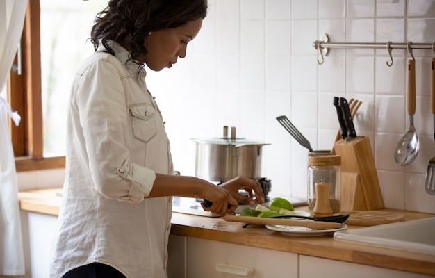 Women preparing food in the kitchen