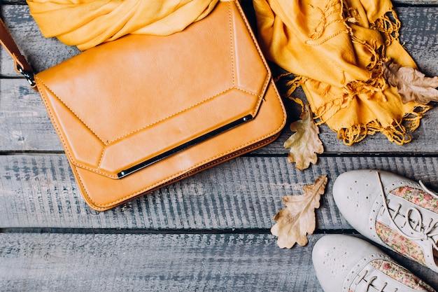 Women's autumn clothes.