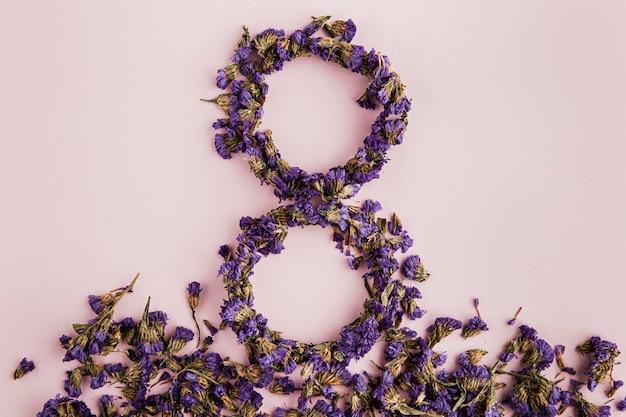 여자의 날 꽃 8 경기