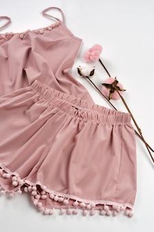 Women's nightwear of delicate pajamas