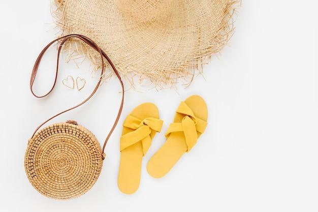 Женский стильный летний наряд.