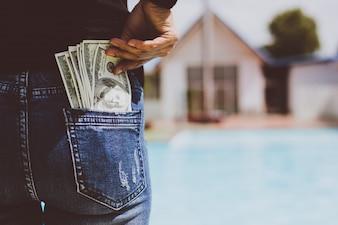 Women symbol money business casual